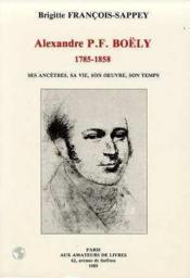 Alexandre P.F.Boely (1758-1858) - Couverture - Format classique