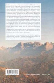 Histoire de la grande Kabylie - 4ème de couverture - Format classique