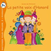La petite voix d'Honoré - Couverture - Format classique