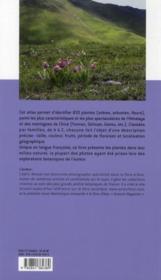 Plantes de l'Himalaya et des montagnes de Chine - 4ème de couverture - Format classique