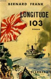 Longitude 103. - Couverture - Format classique