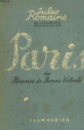 Paris Des Hommes De Bonne Volonte. - Couverture - Format classique
