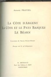 Cote D'Argent Et Cote Pays Basque Bearn - Couverture - Format classique