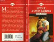 Retour A Santa Barbara - Bachelor Father - Couverture - Format classique