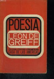 Poesia - Couverture - Format classique