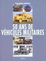 50 Ans De Vehicules Militaires(T3) - Intérieur - Format classique