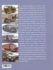 50 Ans De Vehicules Militaires(T3) - 4ème de couverture - Format classique