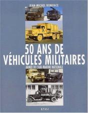 50 Ans De Vehicules Militaires(T3) - Couverture - Format classique