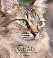 Chats ; races, comportements, éducation - Couverture - Format classique