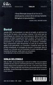 Boréal - 4ème de couverture - Format classique