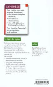 La France Des Regions - 4ème de couverture - Format classique