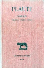 Comédies t.6 ; pseudolus, rudens, stichus - Couverture - Format classique