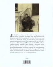 Renoir : A La Table D'Un Impressionniste - 4ème de couverture - Format classique