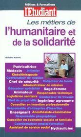 Metiers De L'Humanitaire Et De La Solidarite - Intérieur - Format classique