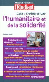 Metiers De L'Humanitaire Et De La Solidarite - Couverture - Format classique