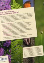 Le guide pratique du jardinier d'aujourd'hui - 4ème de couverture - Format classique