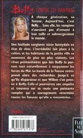 Buffy Contre Les Vampires T.24 ; Ce Mal Que Font Les Hommes - 4ème de couverture - Format classique