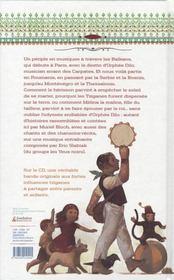 Orphée dilo et autres contes de balkans - 4ème de couverture - Format classique
