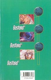 Bastard !! - Tome 22 - 4ème de couverture - Format classique