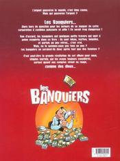 Les banquiers t.1 ; nul si découvert - 4ème de couverture - Format classique