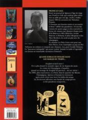 Une aventure de Spirou et Fantasio t.2 ; les marais du temps - 4ème de couverture - Format classique
