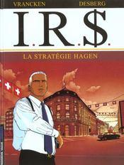 I.R.$ t.2 ; la stratégie Hagen - Intérieur - Format classique