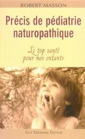 Precis de pediatrie naturopathique - Intérieur - Format classique