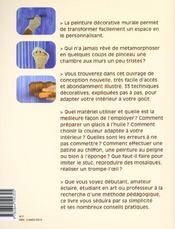 Et Si J'Apprenais T.7 ; La Peinture Décorative Murale - 4ème de couverture - Format classique