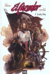 El cazador t.1 ; lady Sin - Intérieur - Format classique