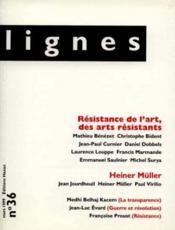 Revue Lignes N.36 - Couverture - Format classique