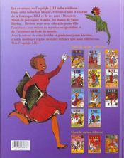 Lili t.11 ; Lili et le diamant luck - 4ème de couverture - Format classique