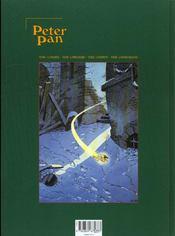 Peter Pan t.1 ; Londres - 4ème de couverture - Format classique