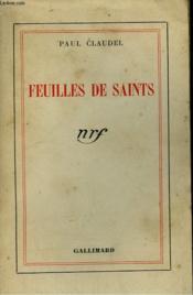 Feuilles De Saints. - Couverture - Format classique