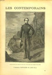 LES CONTEMPORAINS N°544 à 546. L'EMPEREUR NAPOLEON III. (1808-1873). - Couverture - Format classique