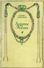 Suzanne Normis (roman d'un père). - Couverture - Format classique