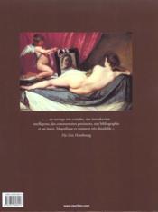 Velázquez, catalogue raisonné - 4ème de couverture - Format classique
