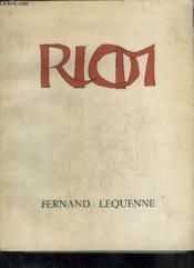 Riom Petite Ville Grande Histoire - Collection Le Bibliophile En Auvergne Tome Xi + Envoi De L'Auteur. - Couverture - Format classique