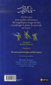 Azur et Asmar ; le livre-jeu - 4ème de couverture - Format classique