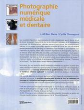 Photographie numérique médicale - 4ème de couverture - Format classique