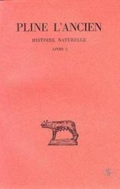 Histoire naturelle l1 - Couverture - Format classique