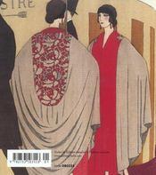 Art Deco, La Mode - 4ème de couverture - Format classique