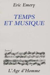 Temps Et Musique - Couverture - Format classique