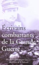Ecrivains combattants de la grande guerre - Couverture - Format classique