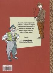A.D.A T.1 ; Antique Detective Agency - 4ème de couverture - Format classique