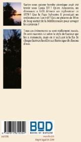 Merveilles & mystères - 4ème de couverture - Format classique