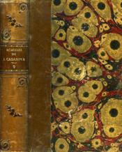 Memoires De J. Casanova De Seingalt, Ecrits Par Lui-Meme, Suivis Des Memoires Du Prince De Ligne, Tome Iv - Couverture - Format classique