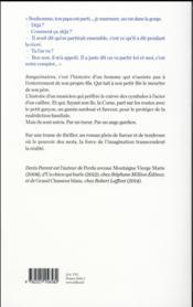 Sanguinaires - 4ème de couverture - Format classique