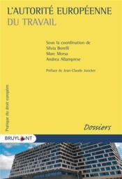 L'autorité européenne du travail - Couverture - Format classique