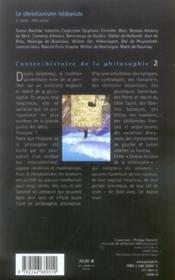 Contre-histoire de la philosophie t.2 ; le christianisme hédoniste - Couverture - Format classique
