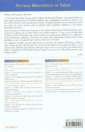Etat de droit, rechtsstaat, rule of law - 4ème de couverture - Format classique